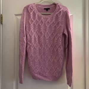 Tommy Hilfiger purple and white sweater